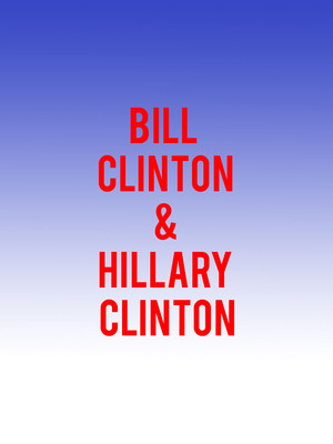 Bill Clinton and Hillary Clinton Poster