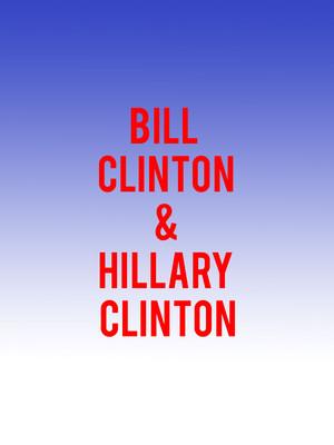 Bill Clinton and Hillary Clinton Poster