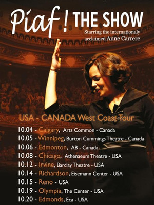 Piaf! The Show at Mccallum Theatre
