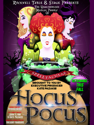The Unauthorized Musical Parody of Hocus Pocus Poster