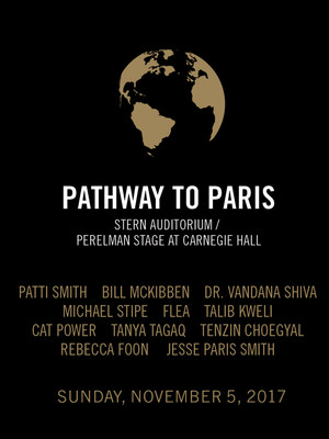 Pathway to Paris: Patti Smith Poster