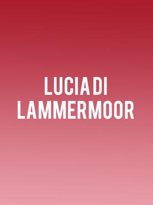 Lucia di Lammermoor at Royal Opera House