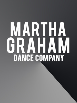 Martha Graham Dance Company Poster