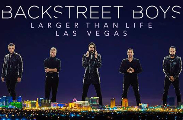 Backstreet Boys, Zappos Theater at Planet Hollywood, Las Vegas