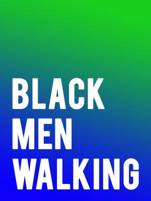Black Men Walking Poster