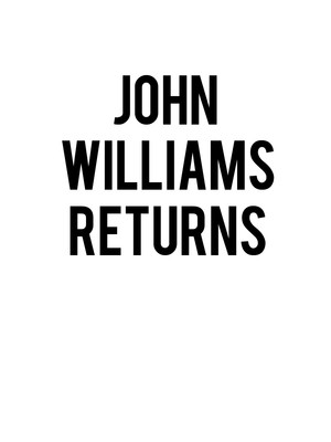 Chicago Symphony Orchestra - John Williams Returns Poster