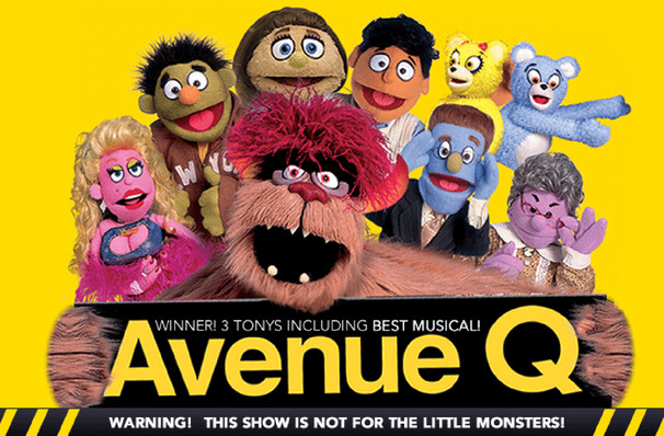 Avenue Q dates for your diary