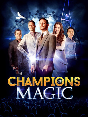 Champions of Magic at Muriel Kauffman Theatre