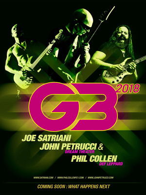 G3 - Joe Satriani, John Petrucci and Phil Collen Poster
