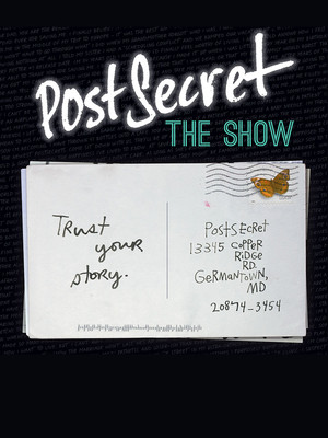 PostSecret The Show, Old Globe Theater, San Diego