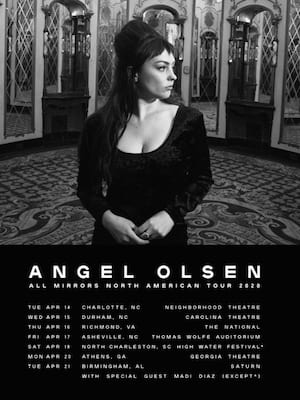 Angel Olsen at Palace Theatre Los Angeles
