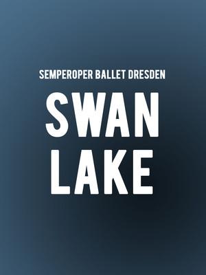 Semperoper Ballet Dresden Swan Lake, NAC Theatre, Ottawa