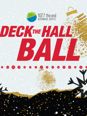 Deck The Hall Ball Poster