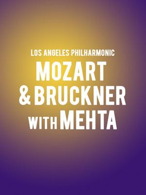 Los Angeles Philharmonic Mozart and Bruckner with Mehta, Walt Disney Concert Hall, Los Angeles