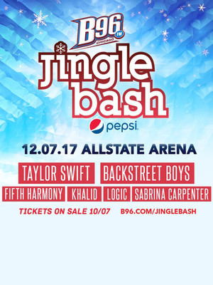 B96 Pepsi Jingle Bash feat Taylor Swift Backstreet Boys Fifth Harmony, All State Arena, Chicago