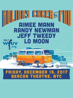 Holiday Cheer WFUV with Aimee Mann Poster