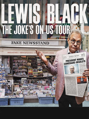 Lewis Black at Cullen Performance Hall