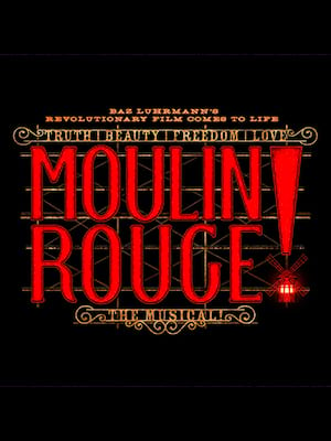 Image result for moulin rouge broadway poster