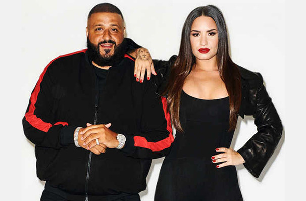 Demi Lovato and DJ Khaled, Talking Stick Resort Arena, Phoenix