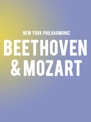New York Philharmonic - Beethoven and Mozart Poster