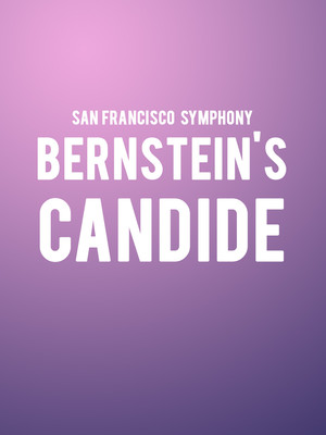 San Francisco Symphony - Bernstein's Candide Poster