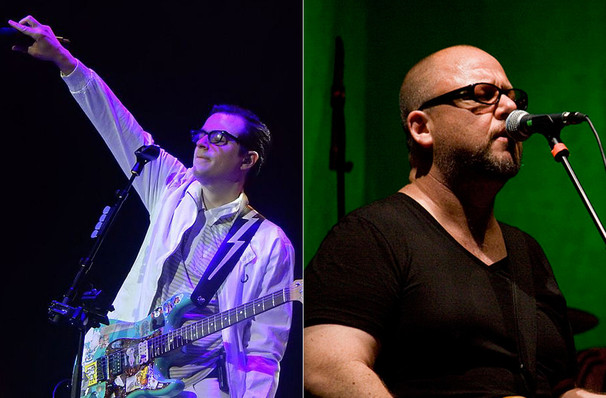 Don't miss Weezer and Pixies one night only!
