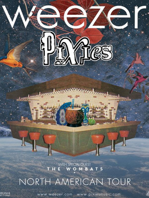 Weezer and Pixies at Walnut Creek Amphitheatre Circus Grounds