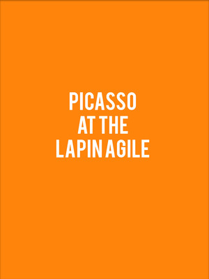 Picasso at The Lapin Agile Poster
