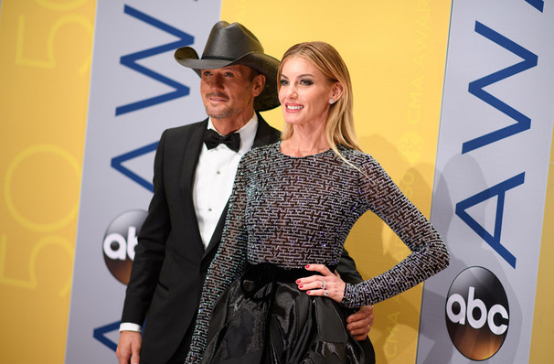 Tim McGraw and Faith Hill, Mohegan Sun Arena, Hartford