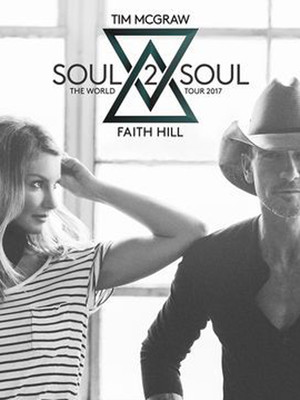 Tim McGraw and Faith Hill at Target Center