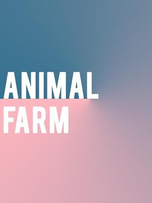 Animal Farm, Baillie Theatre Stage, Toronto