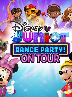 Disney Junior Live: Dance Party Poster