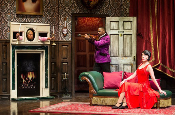 The Play That Goes Wrong, Eisenhower Theater, Washington