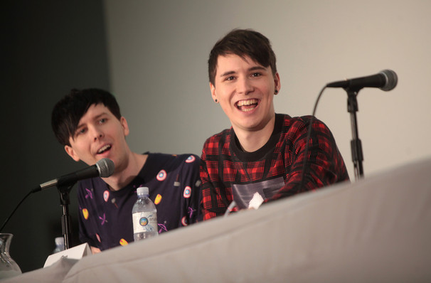 Dan and Phil, Smart Financial Center, Houston