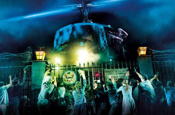 Miss Saigon, Segerstrom Hall, Costa Mesa