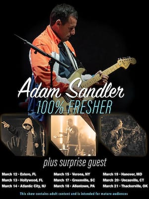 Adam Sandler, Webster Bank Arena, New Haven