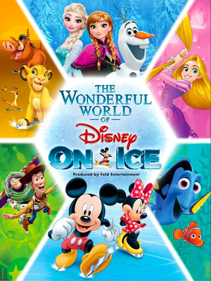 The Wonderful World of Disney On Ice Poster