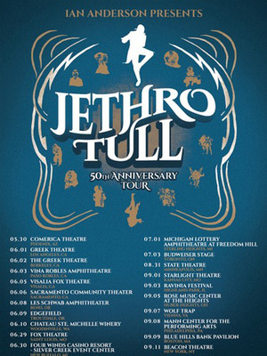 Jethro Tull 50th Anniversary Tour, Chateau St Michelle, Seattle