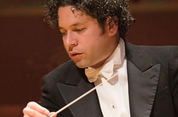 Los Angeles Philharmonic Dudamel conducts Beethoven 9 and Bernstein, Walt Disney Concert Hall, Los Angeles