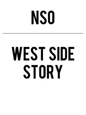National Symphony Orchestra - West Side Story Poster