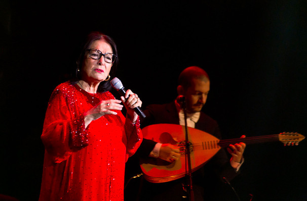 Nana Mouskouri, Saban Theater, Los Angeles