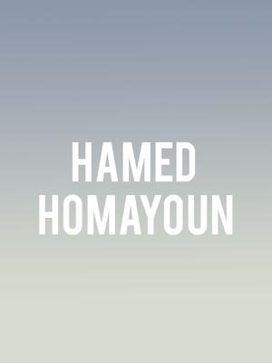 Hamed Homayoun Poster