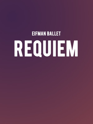 Eifman Ballet - Requiem at Salle Wilfrid Pelletier