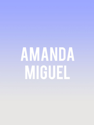 Amanda Miguel at Microsoft Theater