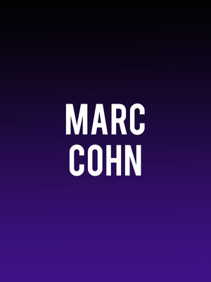 Marc Cohn at Birchmere Music Hall