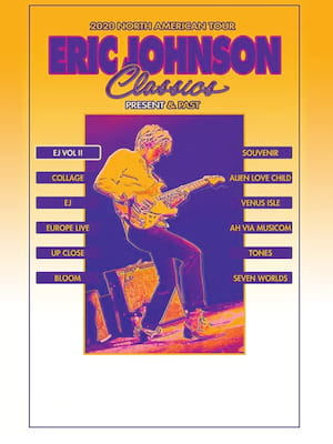 Eric Johnson, Charleston Music Hall, North Charleston