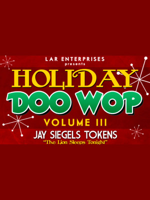 A Holiday Doo-Wop Poster