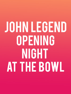Opening Night at the Bowl Poster