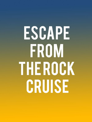 Escape From the Rock Cruise Poster