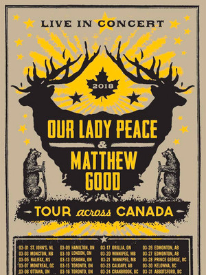 Our Lady Peace and Matthew Good Poster